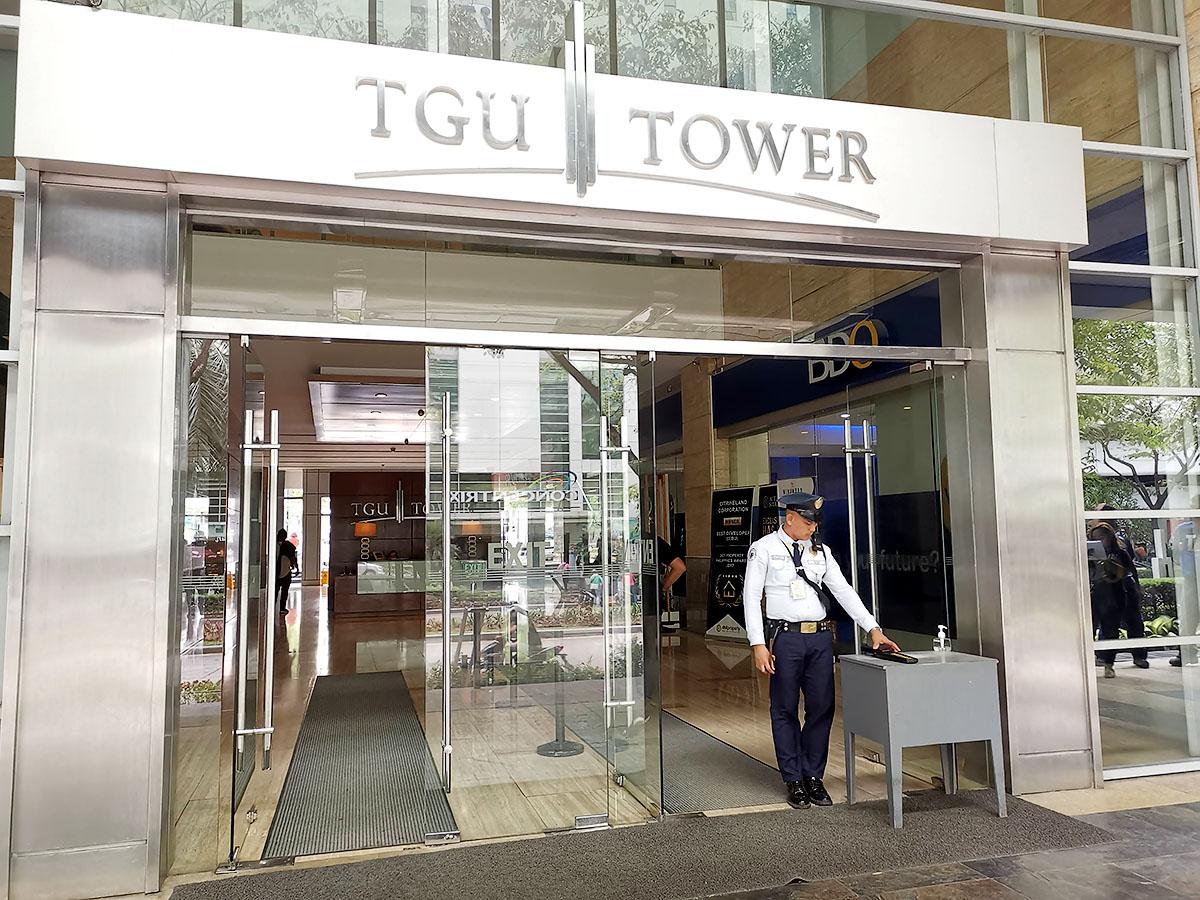 セブ島・TGUタワー